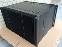 Алюминиевый усилитель мощности шасси/home аудио усилитель случае (размер 430*300*528 мм)