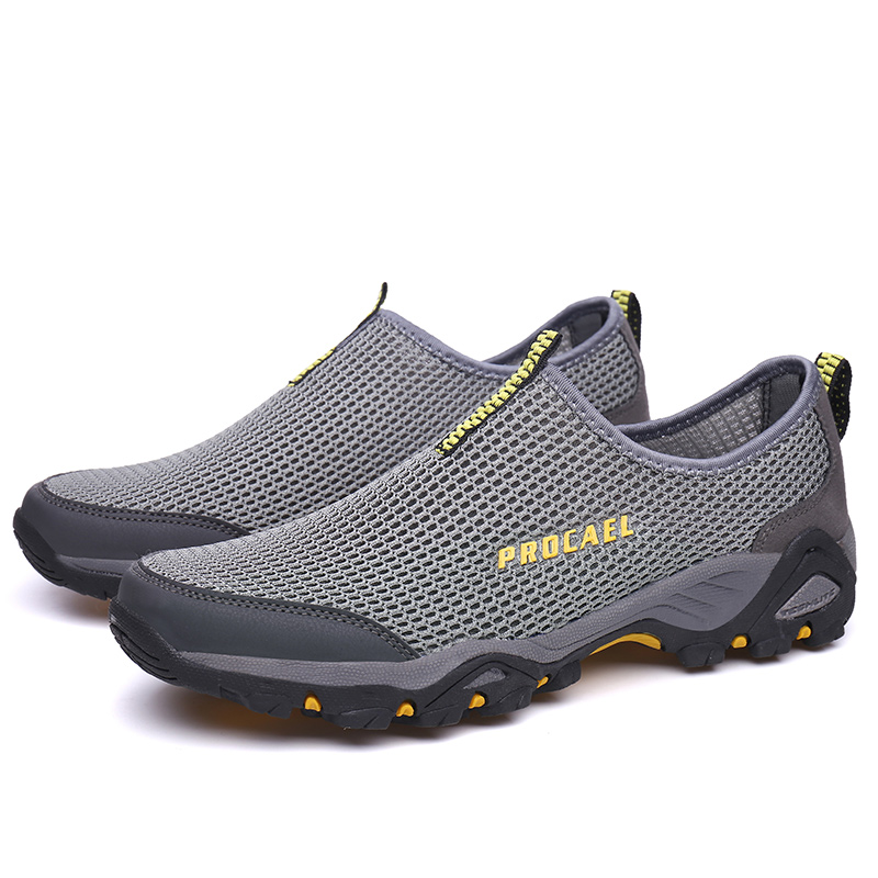 lowest price c6c49 08eab Leader Show Summer Air Mesh Man Breathable Casual Shoes