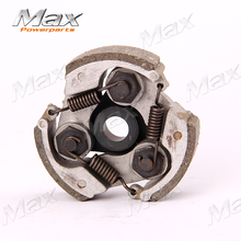 Two Stroke Alloy Engine Clutch  Cooling Mini Moto Motor 1E39 39cc Pocket Bike Clutch Free Shipping