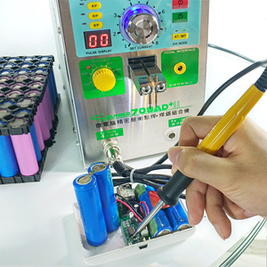 Image 4 - SUNKKO 3.2KW 709AD+ spot welder machine pulse spot welding for 18650 battery pack Production with welding pen and soldering iron