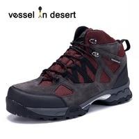 Vessel In Desert Outdoor Lightweight Walking Shoe High Quality Waterproof Men S Hiking Boots Climbing Shoes