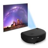 COOLUX HD портативный проектор 1080 люмен поддержка 3000 P видеоигры домашний кинотеатр проектор кинопроектор со встроенным динамиком
