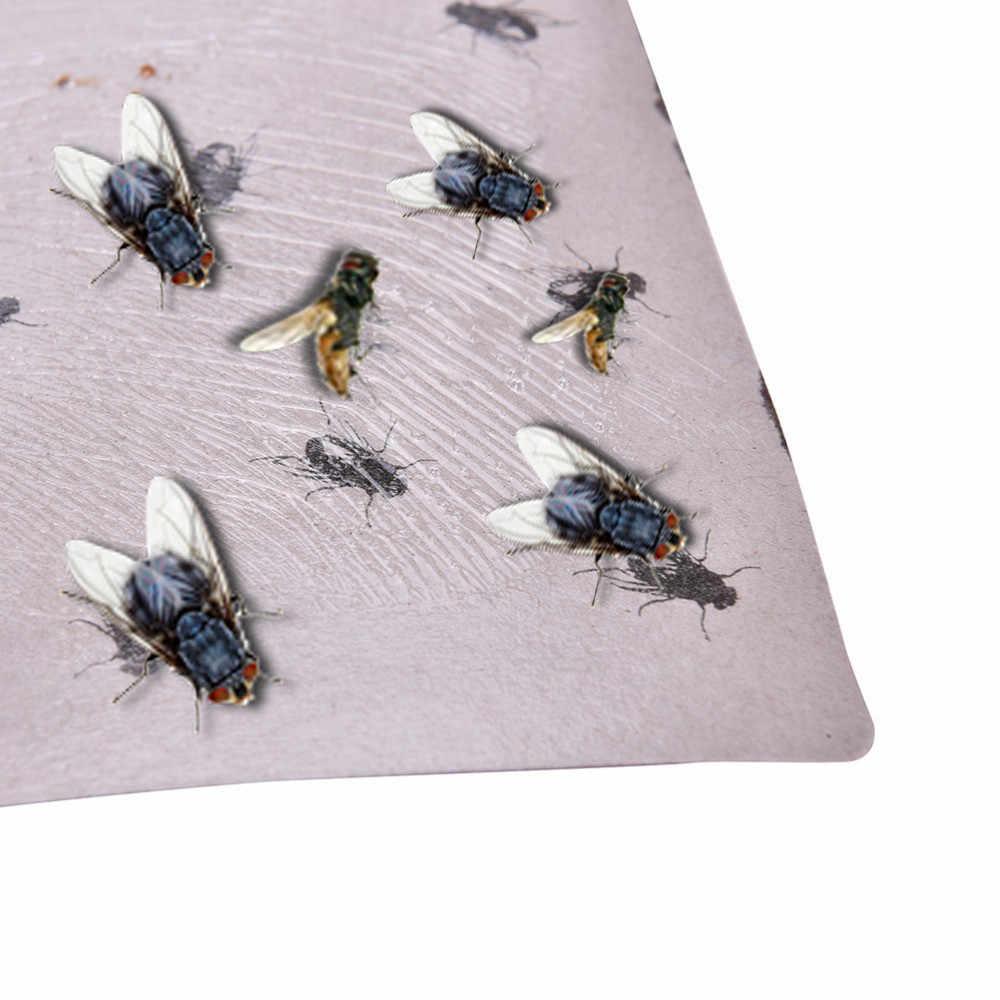 Rouleaux d'été papier mouche collant colle ticky papier mouche mouches piège attrape insectes panneau attrape mouche piège dispositif