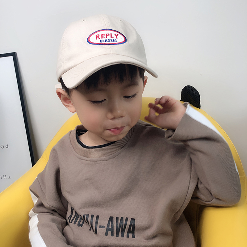 Kids Adjustable Baseball Caps Summer Baby Letter Embroidery Cotton Cap Boys Girls Hats Children Snapback Hip Hop Sun Hat in Men 39 s Baseball Caps from Apparel Accessories