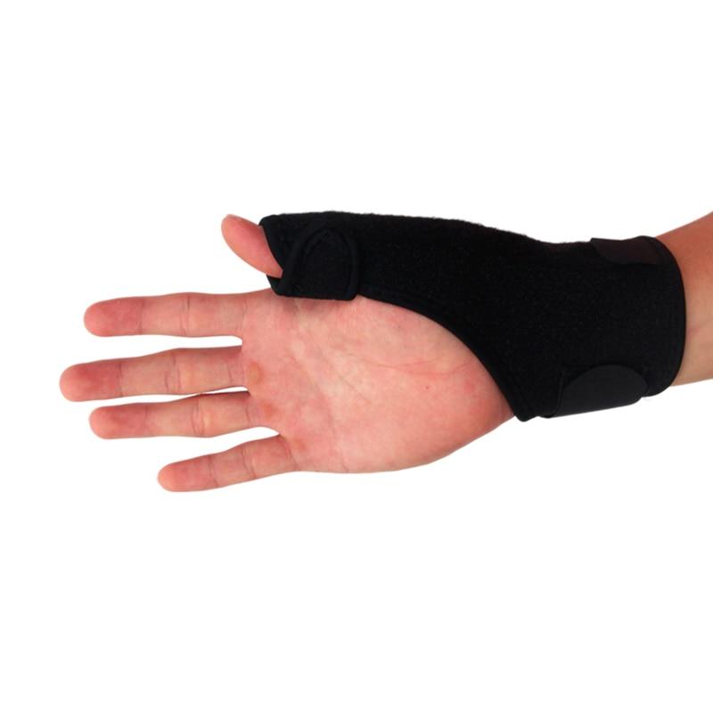Ourpgone Brand Elastic Thumb Wrap Hand Palm Wrist Brace Splint Support Arthritis Pain Sport Training Thumb Fitted Correction
