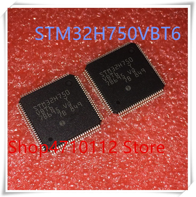 NEW 1PCS/LOT STM32H750VBT6 STM32H750 VBT6 LQFP-100 IC