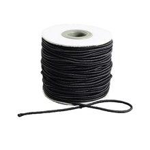 40 m/roll 15 Colores Elección Ronda Cuerda Elástica 2mm Estiramiento Que Rebordea Cuerdas de Rosca Cuerda para La Joyería de DIY pulsera de Toma de Suministros