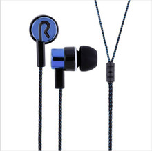 cloth line In-ear Earphones Super Clear Bass Metal