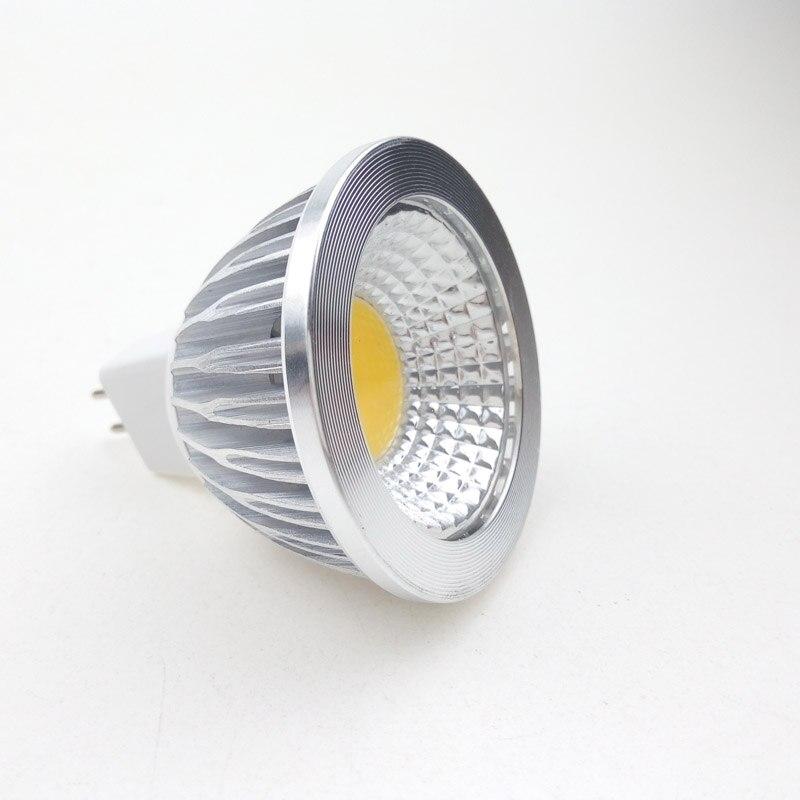 MR16 12V COB LED Bulbs 3W Spotlight 12 Volts for Cabinet Lighting Decoration Bayonet Fittings Spot