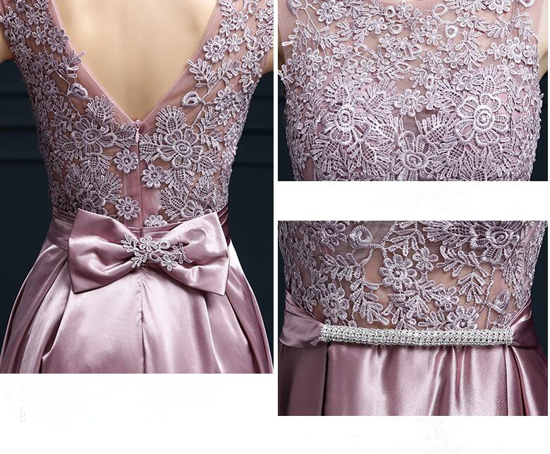 Robe De Soiree 2019 spets ärmlös av axelklänningen - Särskilda tillfällen klänningar - Foto 5