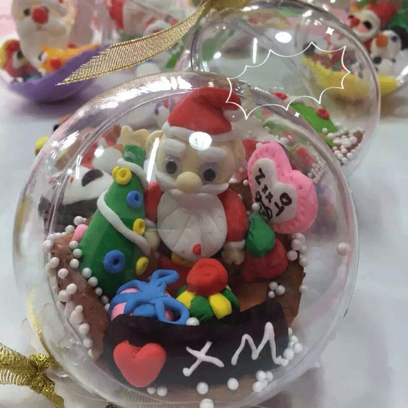 Wholesale Clear Christmas Ornaments