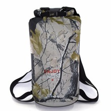 Camouflage 20L Sports Ocean Swimming Water Proof Backpack Bag For Outdoor PVC Waterproof Dry Pool Impermeable Bag Backpack