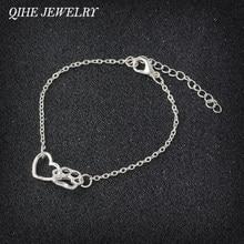 QIHE – Bracelet imprimé patte de chien et chat, bijoux pour amoureux de chiens et chats