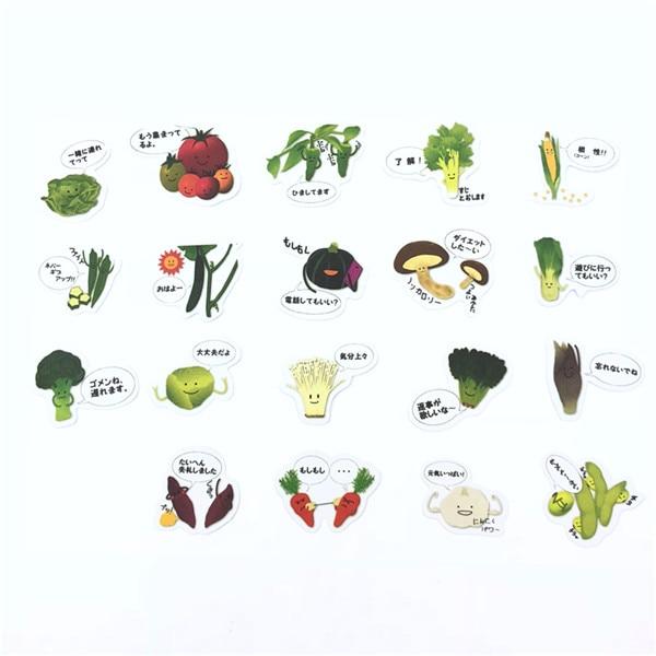1 пакет, милые Мультяшные декоративные наклейки в Корейском стиле, клейкие наклейки, скрапбукинг, сделай сам, декоративные наклейки для дневника - Цвет: 18