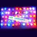Дети Света Игрушки для Детей На Открытом Воздухе Party Bar flash Мягкий Световой Кольцо мигает Горит Пальцем Игрушки 50 ШТ./ЛОТ Бесплатная доставка