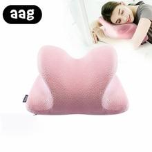 AAG Nap Pillow Memory Foam Slow Rebound Lunch Break For Desk Sleeping Soft Lumbar Cushion In Office Travel Neck