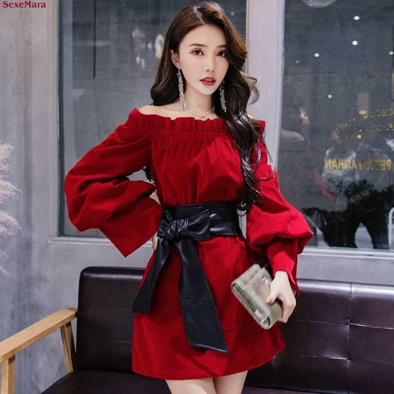 Новинка 2020 года; модное сексуальное приталенное платье без бретелек на одно плечо с воротником; Бесплатная доставка