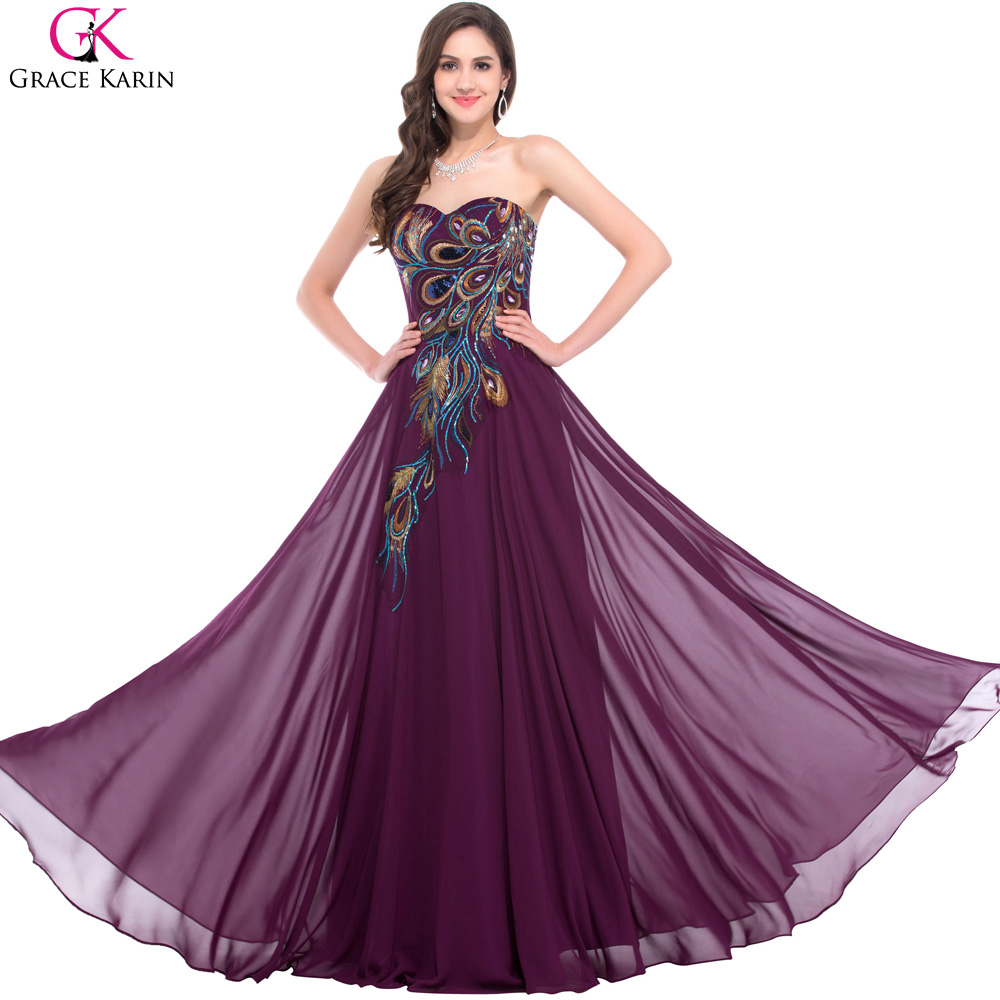 Online get cheap purple wedding dresses for Wedding dresses with purple trim