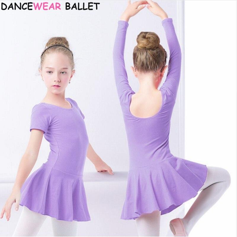 cotton-font-b-ballet-b-font-dance-dress-toddler-girls-child-font-b-ballet-b-font-dance-clothes-kids-gymnastics-leotard-training-dancewear