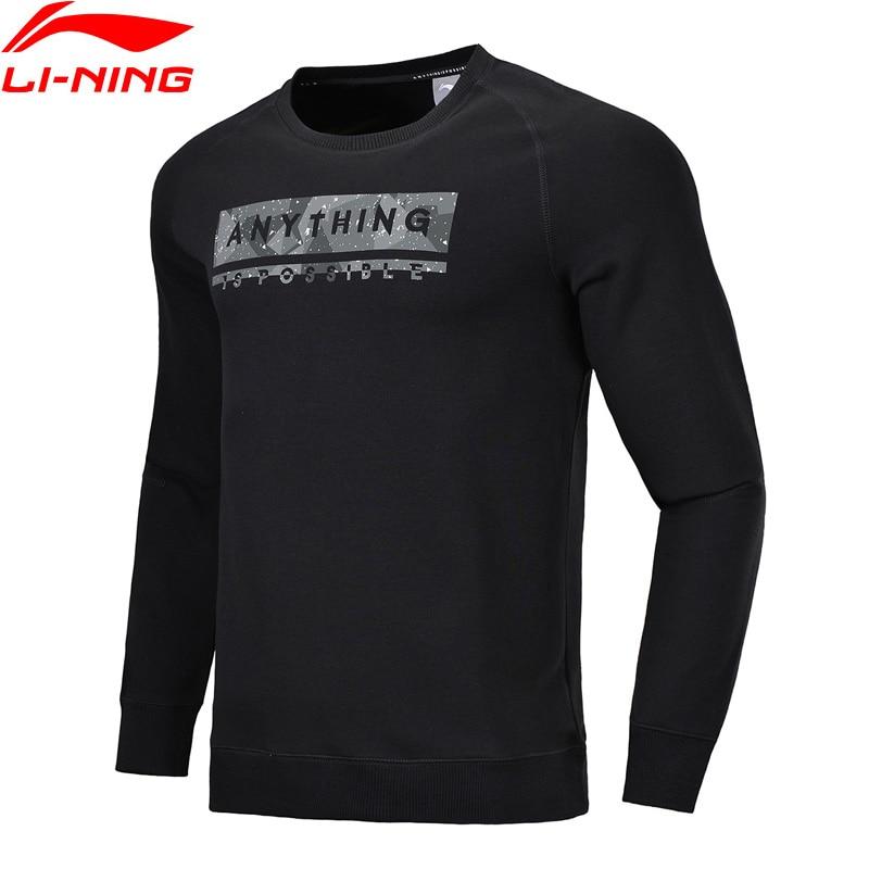 Trainings- & Übungs-sweater Flight Tracker Li-ning Männer Der Trend Po Stricken Pullover 73% Baumwolle 27% Polyester Regelmäßige Fit Futter Komfort Sport Tops Awdn033 Mww1387 Elegant Und Anmutig
