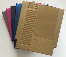 Rainbow color 72 Pinos Jogo Cartucho de Substituição De Plástico Shell Para NES Console