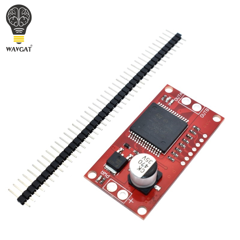 Free Shipping! Monster Moto Shield VNH2SP30 stepper motor driver module high current 30A for arduino