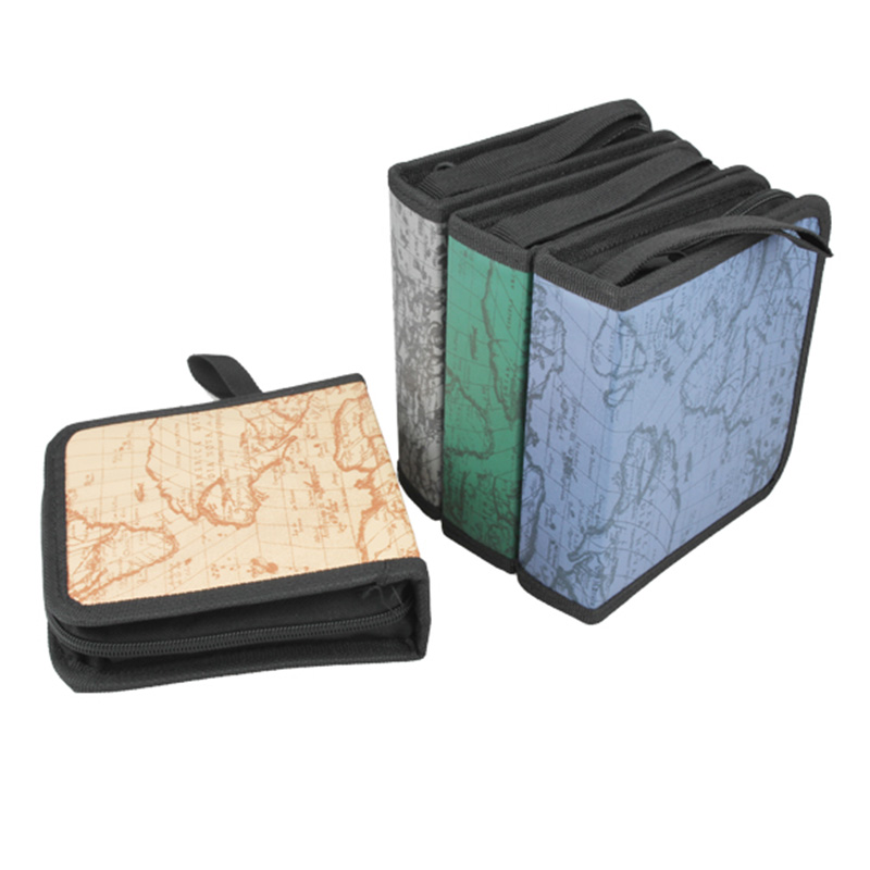 40CD DVD Disc Storage Holder Carry Case Organizer Sleeve Wallet Cover Bag Box XHC88