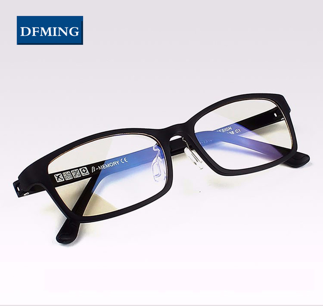 3e59e707b5c00 cheap dfming spectacle frames eyeglasses frame lens optical glasses men eye  glasses women oculos de grau with grau