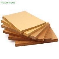 100gsm 100 adet A4 Kahverengi Kraft Kağıt DIY Handmake Kart Yapma Craft Kağıt Yüksek Kalite Kalın Karton Karton