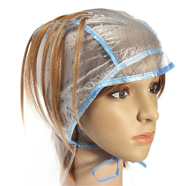 Online Shop 1pcs Hair Color Salon Dye Cap Highlighting Plastic Hook