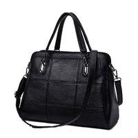 YGDB Brand Women Handbag Genuine Leather Vintage Versatile Shoulder Bag Ladies Tote Messenger Crossbody Bags Female