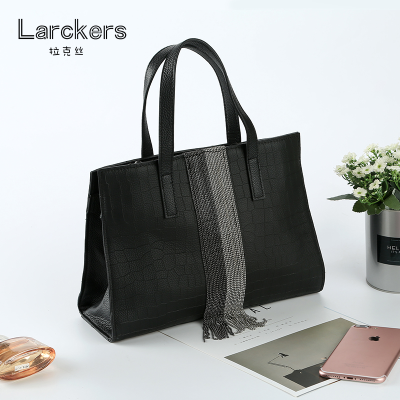 Genuine leather diamond lattice brand women handbag genuine leather tote bag female classic shoulder bags ladies handbags 247 classic leather