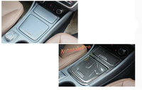 New Carbon Fiber Console Centre Gear Box Storage Ashtray Frame Cover Trim For Mercedes Benz A Class W176 2012 2013 2014 2015