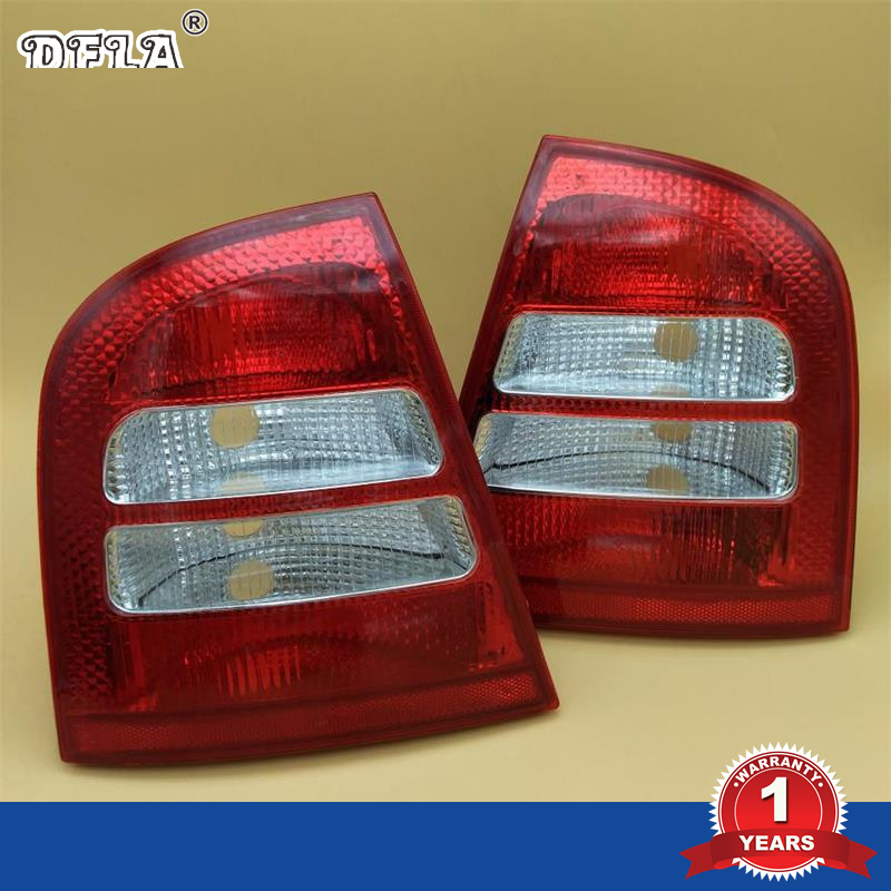 DFLA For Skoda Octavia A4 Sedan 2000 2001 2002 2003 2004 2005 2006 2007 2008 2009 2010 2011 Car Styling Tail Light Rear Light car rear trunk security shield cargo cover for jeep compass 2007 2008 2009 2010 2011 high qualit auto accessories