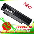 Golooloo 6600 mah batería para acer aspire one d255 522 722 AOD260 D255 D257 D255E D257E D260 D270 E100 AL10A31 AL10B31 AL10G31