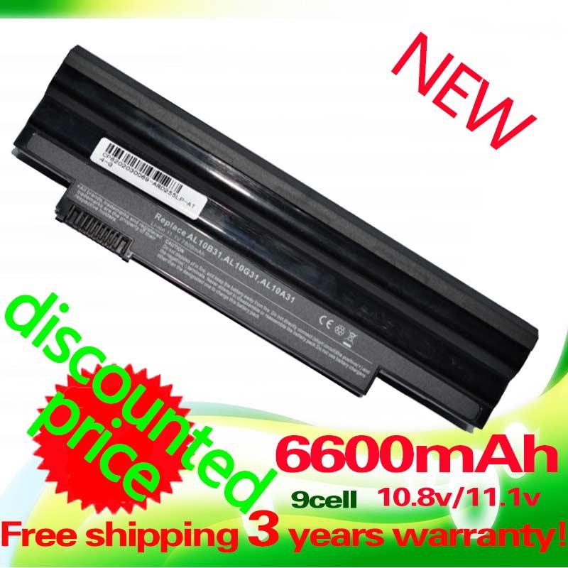 Golooloo 6600mAh battery for Acer Aspire One D255 522 722 AOD255 AOD260 D257 D255E D257E D260 D270 E100 AL10A31 AL10B31 AL10G31