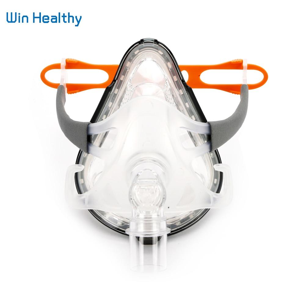 Bmc F1A pełna maska realistyczny żel silikonowy maski usta i nos do snu chrapanie opieki zdrowotnej i bezdechu przyrząd do terapii