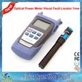 2 En 1 Kit de Fibra FTTH con Medidor de Potencia Óptica y 1 mw Lápiz Láser De Fibra Óptica Localizador Visual de Fallos VFL