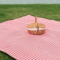 ניו קמפינג מחצלת חיצונית mat תיק אדום ולבן מחצלת בידודים מחצלת פיקניק עמיד למים יותר מכונת רחיץ