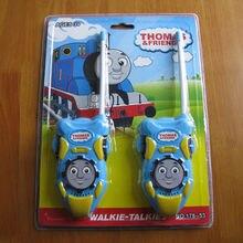 96set/lot Catoon Thomas Toy Interphone parent-child Game Intercom Electronic Walkie Talkie interactive Toy Kids baby Girl Gift