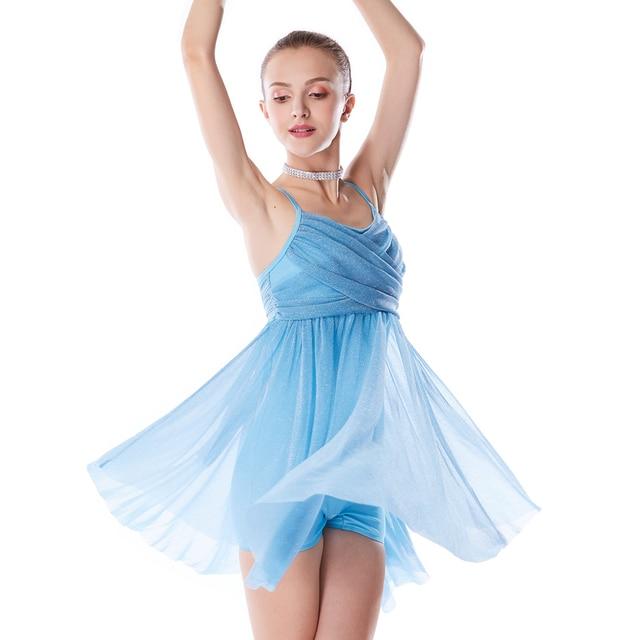 64818a93da58 Aliexpress.com   Buy MiDee Lyrical Dance Dress Silver Glitter ...