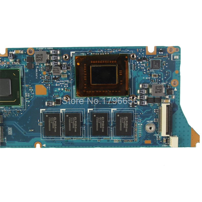 For Asus ZenBook UX31E Motherboard UX31E Mainboard Processor i5-2557 4GB Rev3.2
