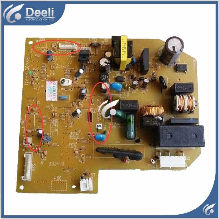 Подробнее о 95% new good working for Daikin air conditioning board 2P084366-5 PCB board 95% new good working for daikin air conditioning computer board 2pb26545 1 ex304 2 fty35fv1c control board