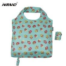 Наво складные сумки Экологичные складной многоразовые мешки легкий вес плеча сумки Сак Cabas