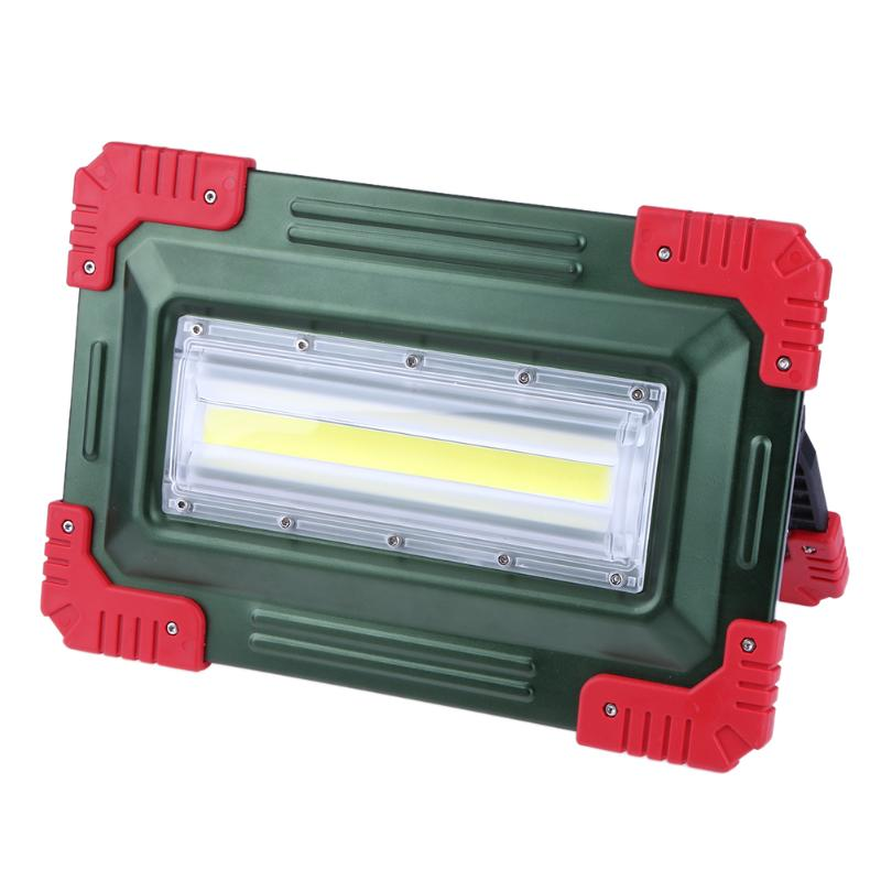 Led Motion Sensor Flood Light Waterproof Camping Outdoor Spotlight Floodlight Searchlight USB Charging Hand Lamp color as random