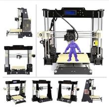 zrprinting A8 3D Printer Prusa i3 DIY kit MK8 Extruder Low price Most popular shipping  Resume Power Failure Printing