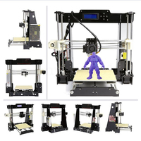 zrprinting A8 3D Printer Prusa i3 DIY kit MK8 Extruder Low price Most popular shipping