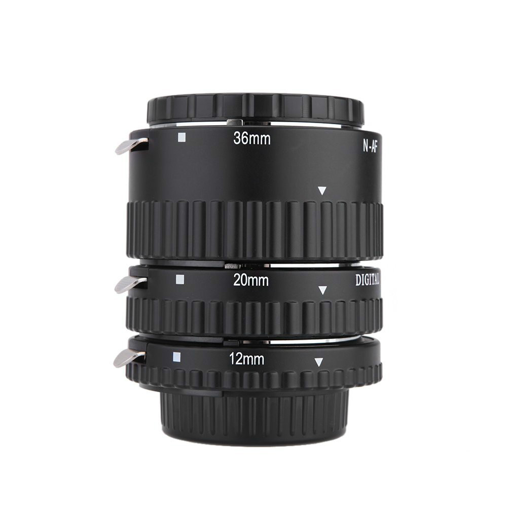 Meike N-AF1-B Autofocus D'extension Macro Anneau de Tube pour Nikon D7200 D7100 D7000 D5100 D5300 D5200 D3100 D800 D600 D300 D90 D80 - 3