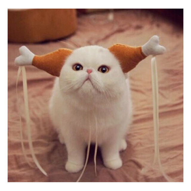 2016 New Style Cotton Drumsticks Pet Dog Cat Hat Accessories Lovely