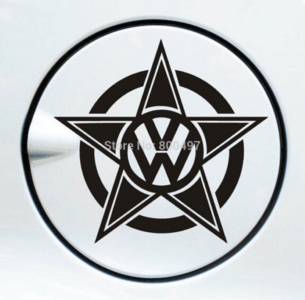 Sticker designs for car - 10 X Naklejki Samochodowe Mieszne Star Design Naklejka Samochod W Volkswagen Vw Golf Gti Touareg Tiguan Jetta